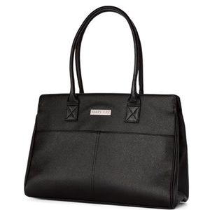 Black & Floral Large Mary Kay Tote